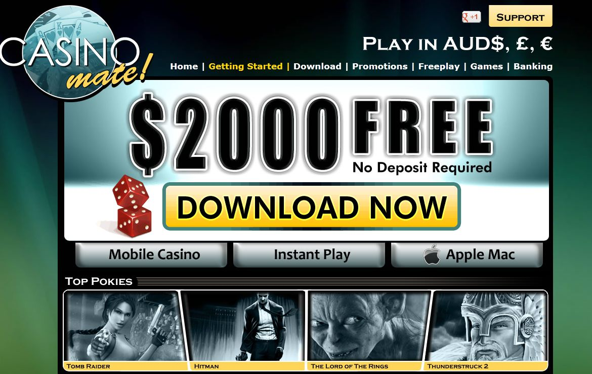 Casino mate mobile login