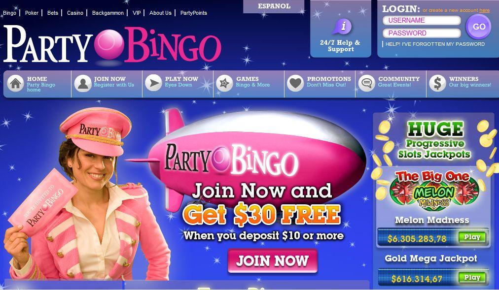 Party Bingo